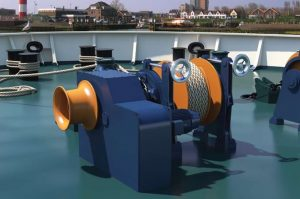C-Winch ECAMW - Electric Combined Anchor Mooring Winch