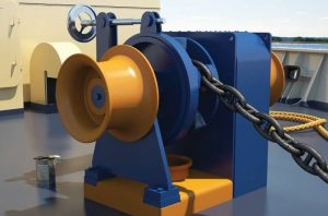 C-Winch ECAW - electric combined anchor winch