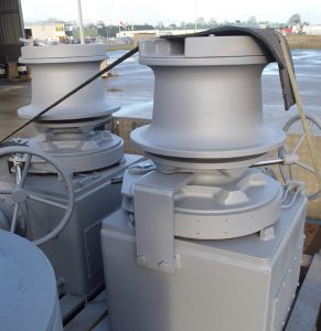 Electric Combined Anchor-Mooring Capstan Vertical