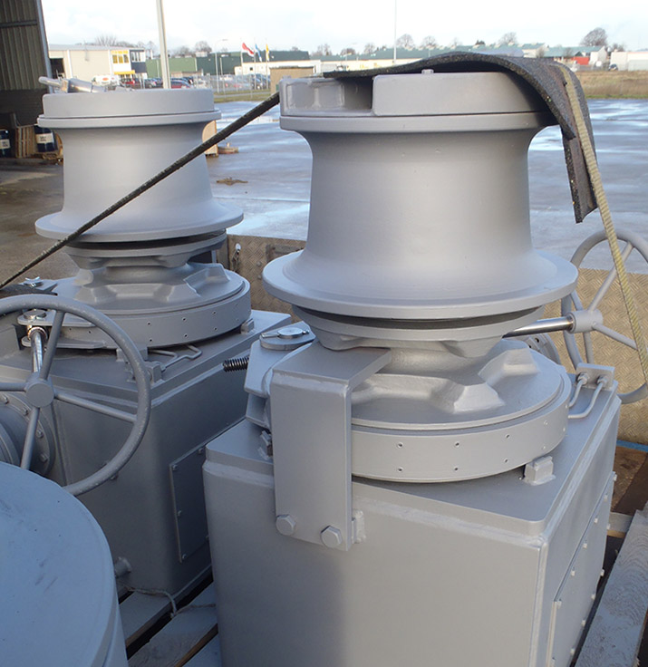 C-Winch ECAMW - Electric Frequency Controlled Anchor Mooring Winch